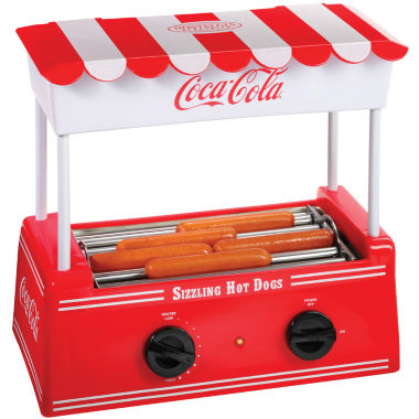jcpenney.com | Nostalgia HDR565COKE Coca-Cola Hot Dog Roller withBun Warmer