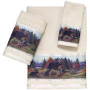 Avanti Black Bear Lodge Bath Towels