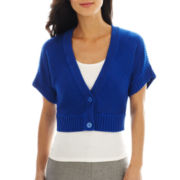 Worthington® 2-Button Textured Cardigan Sweater