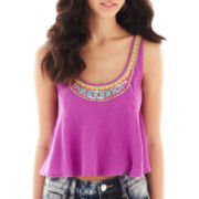 Decree® Sleeveless Crop Top