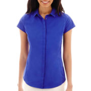 Worthington® Essential Short-Sleeve Shirt - Tall