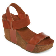 MIA girl Java Wedge Sandals