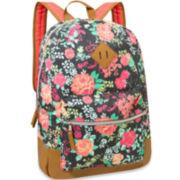 Cotton Floral Backpack