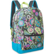 Cotton Quilted Paisley Backpack
