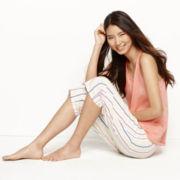 Mixit™ Woven Tank Top and Capris Pajama Set