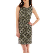 Alyx® Sleeveless Geo Print Sheath Dress