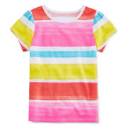 Arizona Striped Favorite Tee - Preschool Girls 4-6x