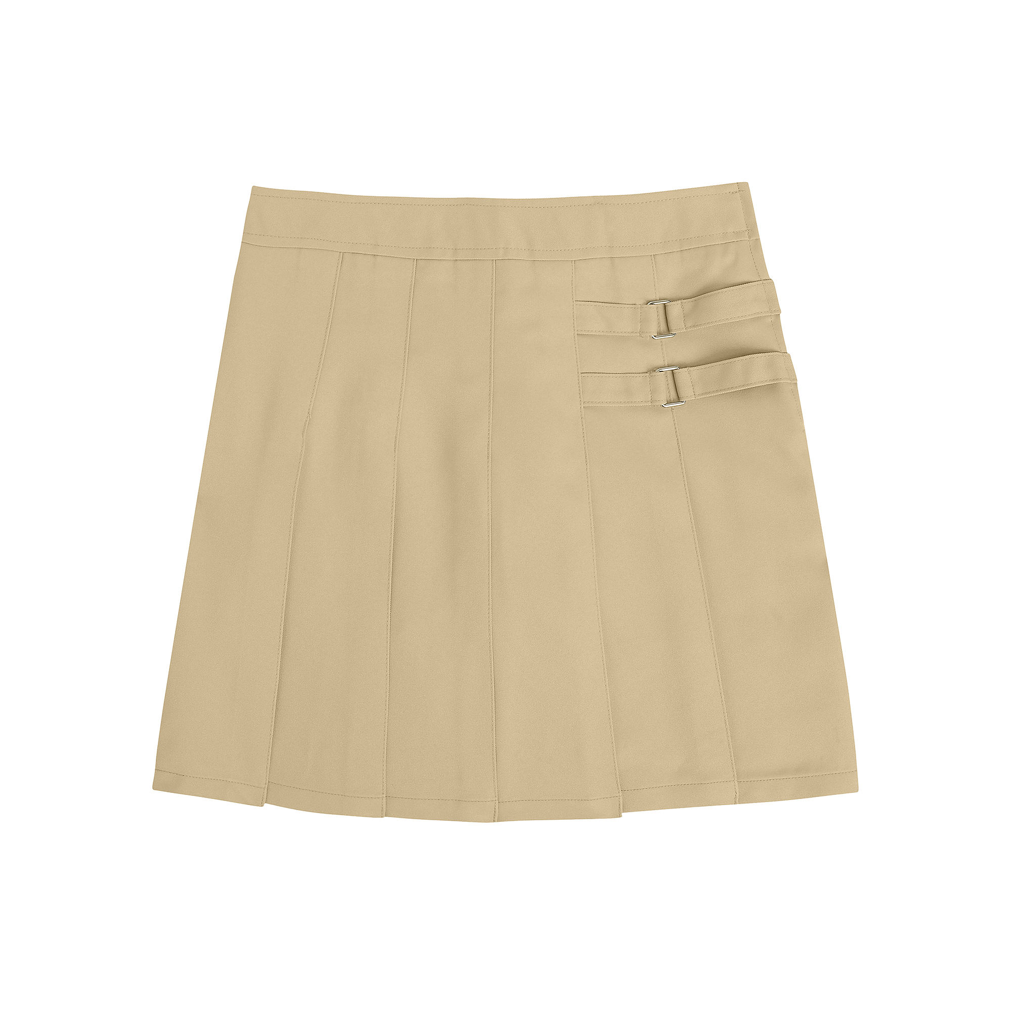 French Toast Two-Tab Scooter Skirt - Girls 7-20 and Plus plus size,  plus size fashion plus size appare