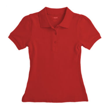 jcpenney.com | French Toast® Piqué Polo - Preschool Girls 4-6x