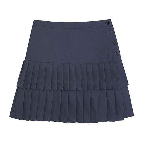 French Toast® Pleated Skort - Girls 7-20 and Plus
