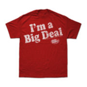 Dr Pepper® I'm A Big Deal Graphic Tee-Big & Tall