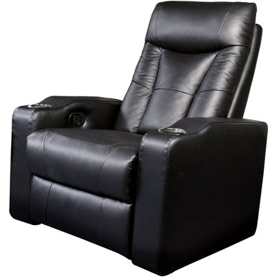 Dallas Home Theater Element Faux-Leather Recliner