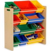 Honey-Can-Do® 12-Bin Kids Storage Organizer