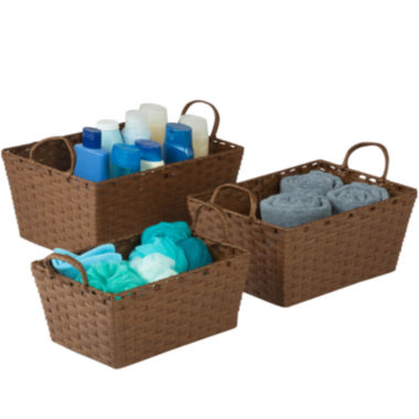 jcpenney.com | Honey-Can-Do® Set of 3 Paper Rope Baskets