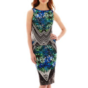 Bisou Bisou® Scuba Print Top or Pencil Skirt