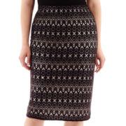 Bisou Bisou® Crochet Tube Skirt - Plus