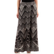 Bisou Bisou® Slit-Front Maxi Skirt - Plus