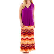 a.n.a® Shirred-Neck Tank Top or Maxi Skirt - Plus