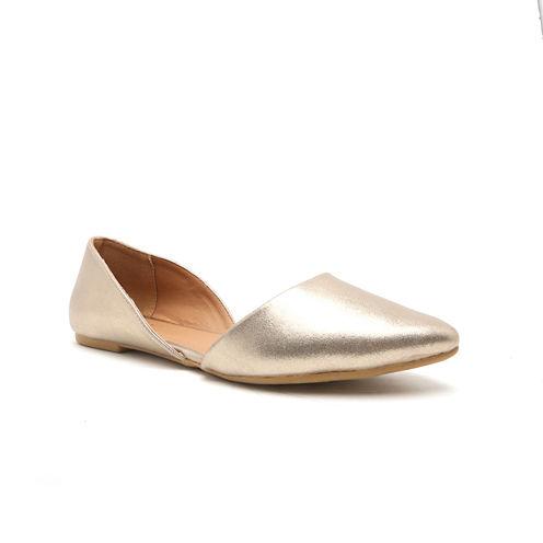 Qupid Pika Two-Piece Ballerina Flats