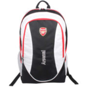 Arsenal Black/White Team Backpack