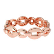 Worthington® Rose-Tone Link Bracelet