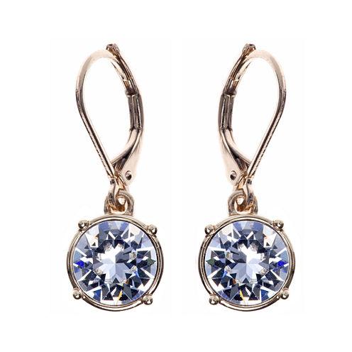 Gloria Vanderbilt® Gold-Tone Crystal Drop Earrings