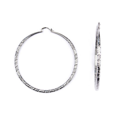 jcpenney.com | Arizona Catch Pin Hoop Round Earring