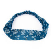 Arizona Flower Print Denim Headband