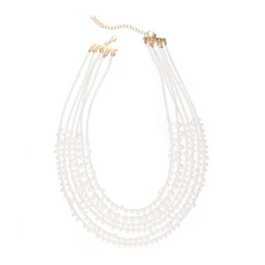 jcpenney.com | Mixit™ White Shell Gold-Tone Illusion Necklace