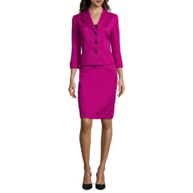 jcpenney.com | Chelsea Rose 3/4-Sleeve Cuffed Textured Jacket or Pencil Skirt
