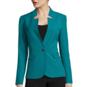 Chelsea Rose Long-Sleeve 1-Button Jacket