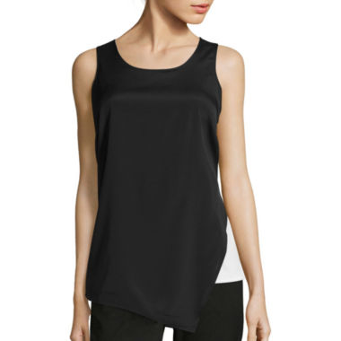 jcpenney.com | Worthington® Layered Blocked Tank Top - Tall