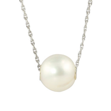 jcpenney.com | Cultured Freshwater Pearl Sterling Silver Pendant Necklace