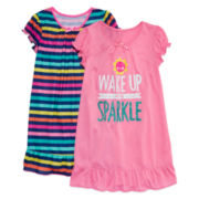 Okie Dokie® Wake and Sparkle Sleepwear - Girls