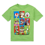 Nintendo® Super Mario Short-Sleeve Graphic Novelty Tee - Preschool Boys 4-7