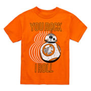 Star Wars® BB-8 Short-Sleeve Graphic Novelty Tee - Preschool Boys 4-7