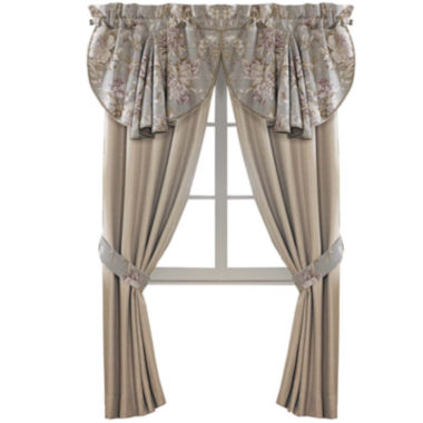 jcpenney.com | Croscill Classics® Lavender and Gray Floral Rod-Pocket 2-Pack Curtain Panels