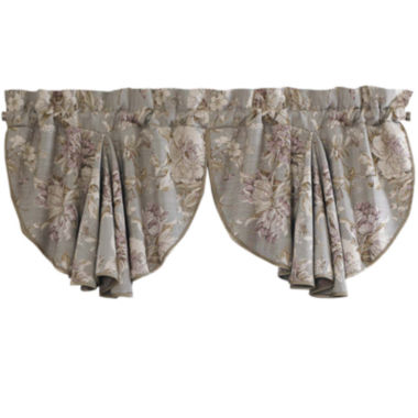 jcpenney.com | Croscill Classics® Lavender and Gray Floral Rod-Pocket Valance