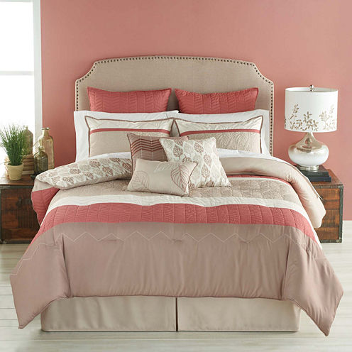 Bryan Keith Acadia Reversible Comforter Set
