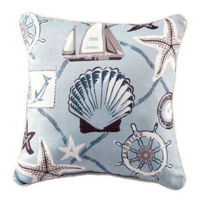 Croscill Classics® Sandy Cove Square Decorative Pillow