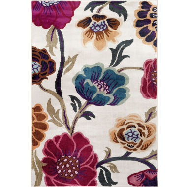 jcpenney.com | World Rug Loft Blooms Rectangle Rug
