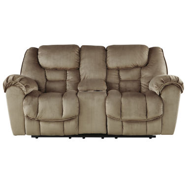 jcpenney.com | Signature Design by Ashley® Jodoca Glider Reclining Loveseat with Console
