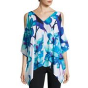 Worthington® Cold-Shoulder Dolman Blouse