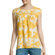 St. John's Bay® Sleeveless Blouse