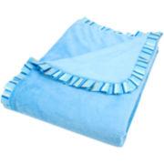 Trend Lab® Levi Ruffle-Trim Blanket