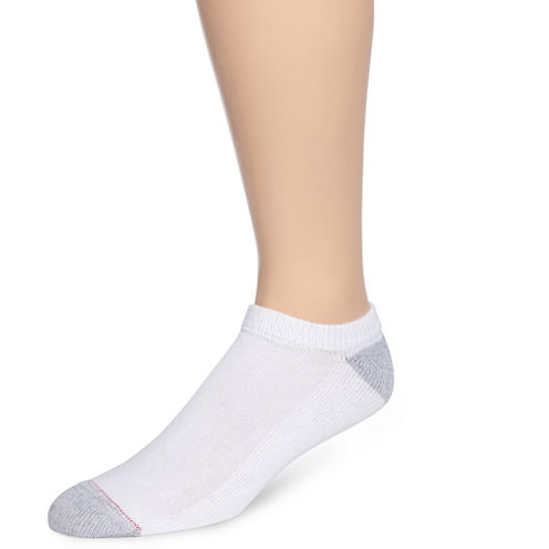 Hanes® Mens 10-pk. Cushioned Foot No Show Socks