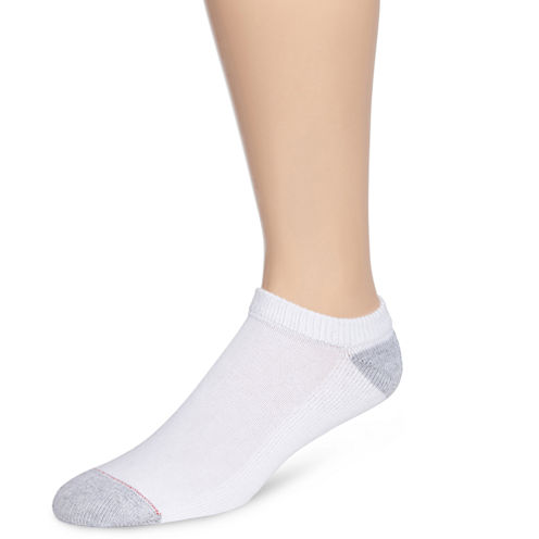 Hanes® Mens 10-pk. Cushioned Foot Low Cut Socks