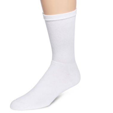 jcpenney.com | Hanes® Mens 6-pk. ComfortBlend® Full Cushion Crew Socks