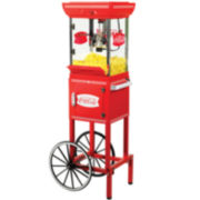 "Nostalgia Electrics™ Coca-Cola® Series 48"" Popcorn Cart"