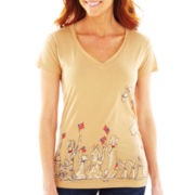 Parade Animals Wrap-Around Graphic Tee